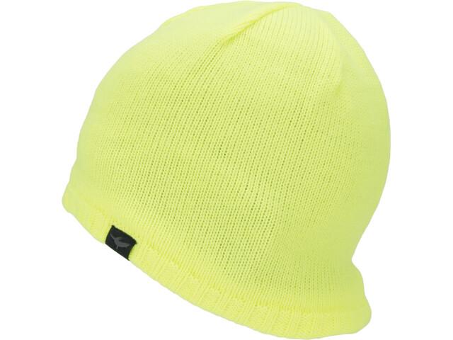Sealskinz Waterproof Cold Weather Beanie Neon Yellow
